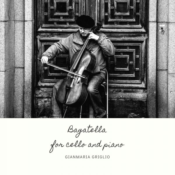 Bagatella for cello and piano