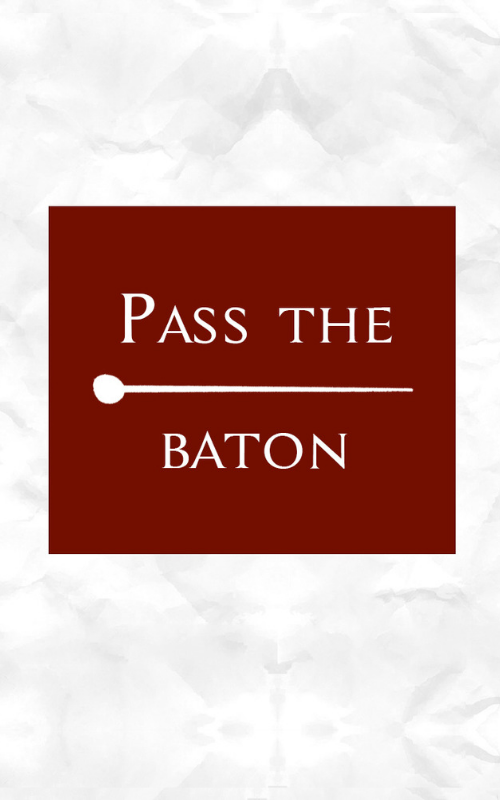Pass the baton - Conducting video course