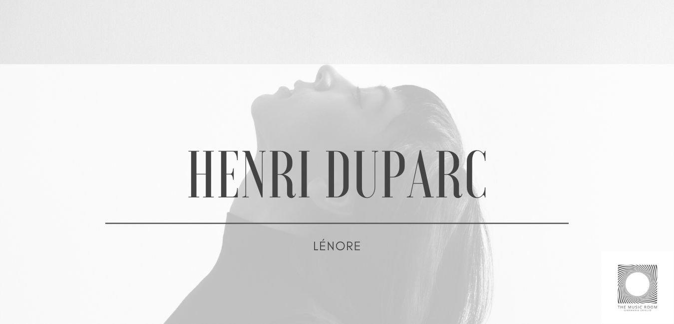 Henri Duparc - Lénore, symphonic poem, 1875