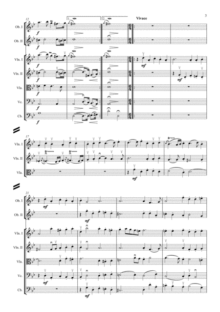 Lully - Le bourgeois gentilhomme suite - arr. Griglio - sample 2