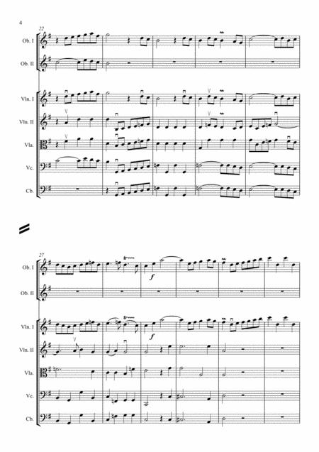 Rameau - Les Indes galantes suite - arr. Griglio - sample 2