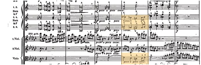 Mahler - symphony 2 - movement 1 - excerpt at number 17