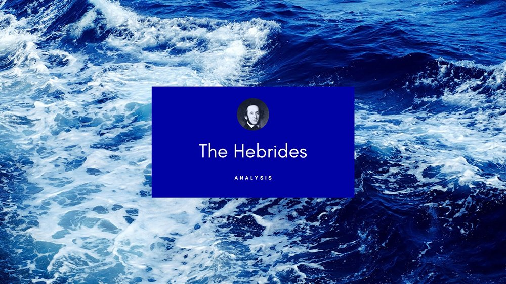 Conducting Mendelssohn: The Hebrides