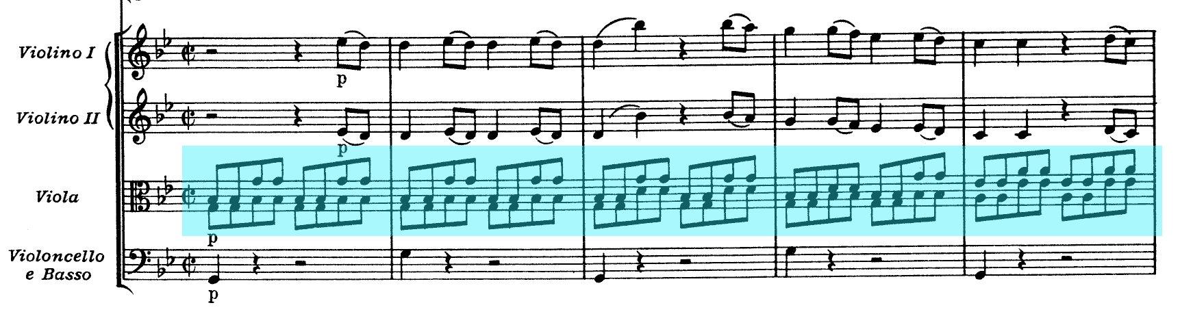 Mozart Symphony n.40 K550 - ex-1