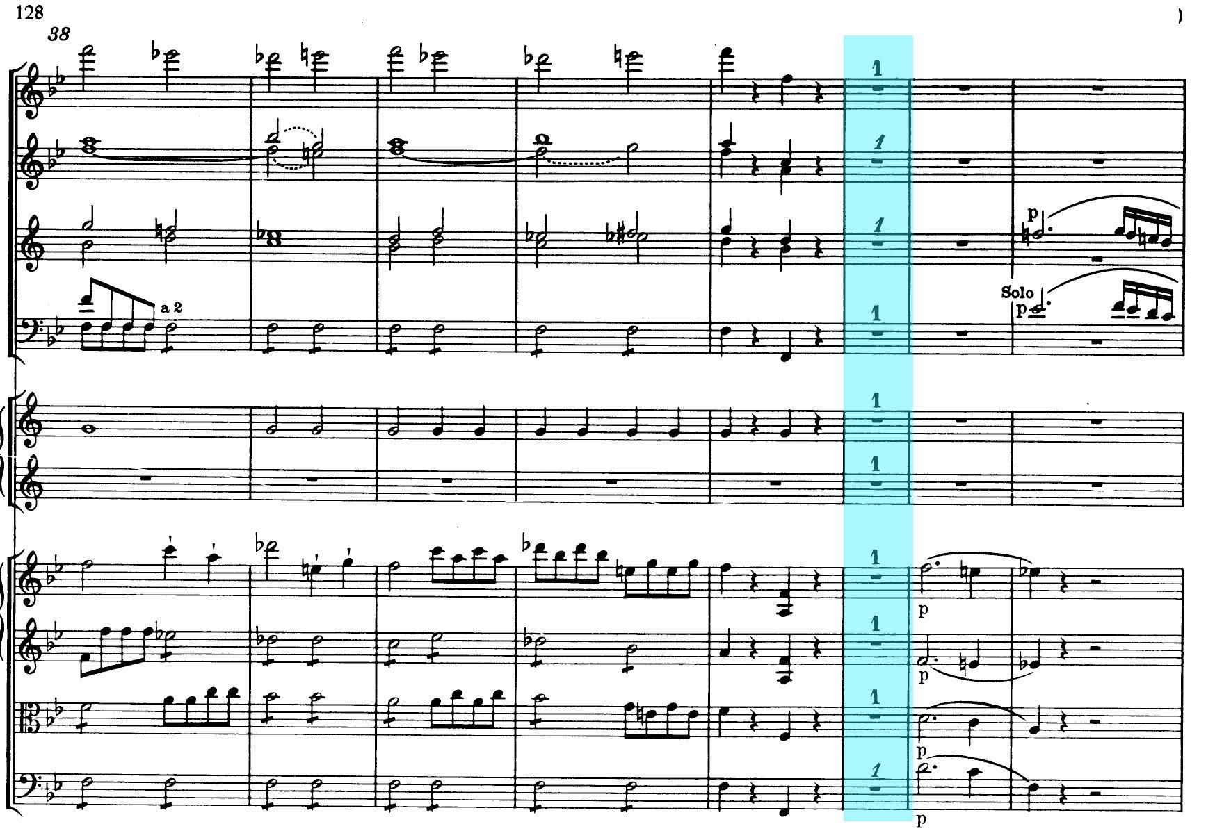 Mozart Symphony n.40 K550 - ex-3