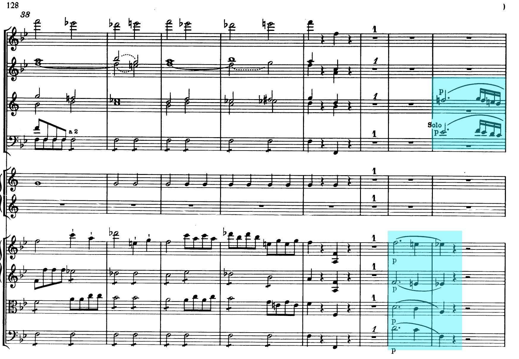 Mozart Symphony n.40 K550 - ex-4
