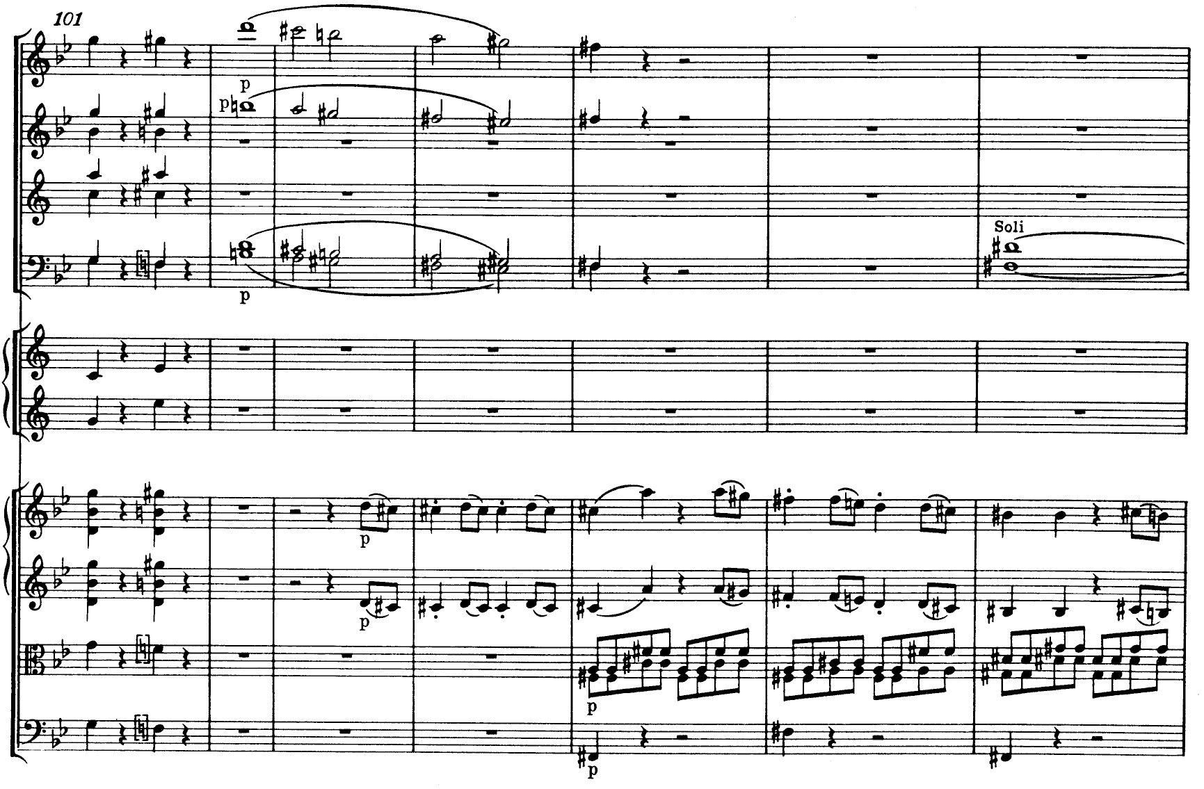 Mozart Symphony n.40 K550 - ex-7