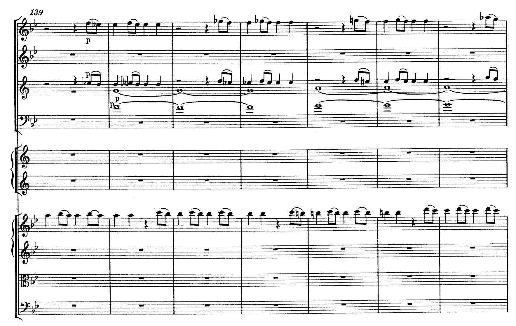 Mozart Symphony n.40 K550 - ex-10