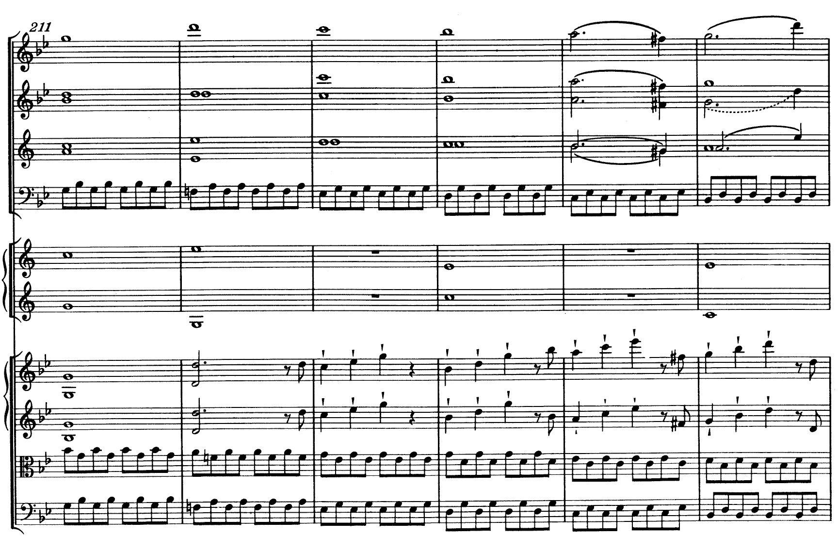 Mozart Symphony n.40 K550 - ex-14
