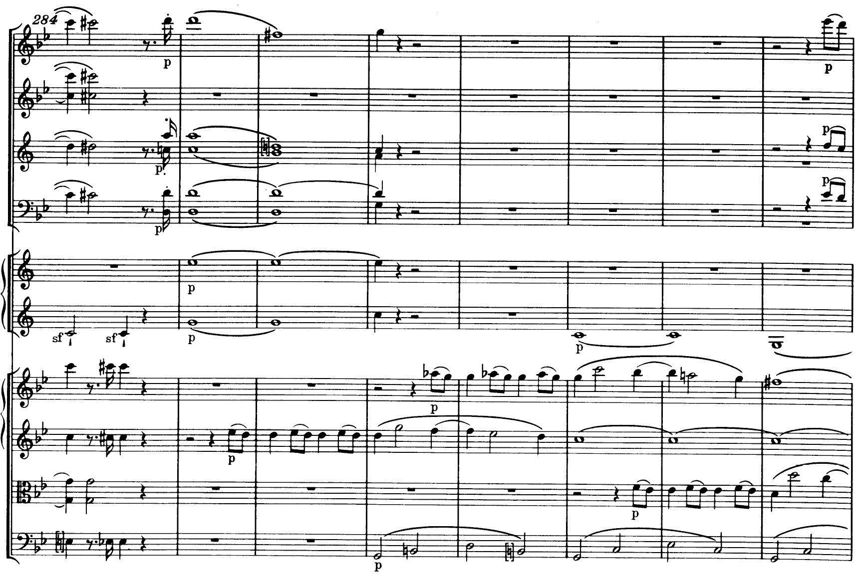 Mozart Symphony n.40 K550 - ex-17