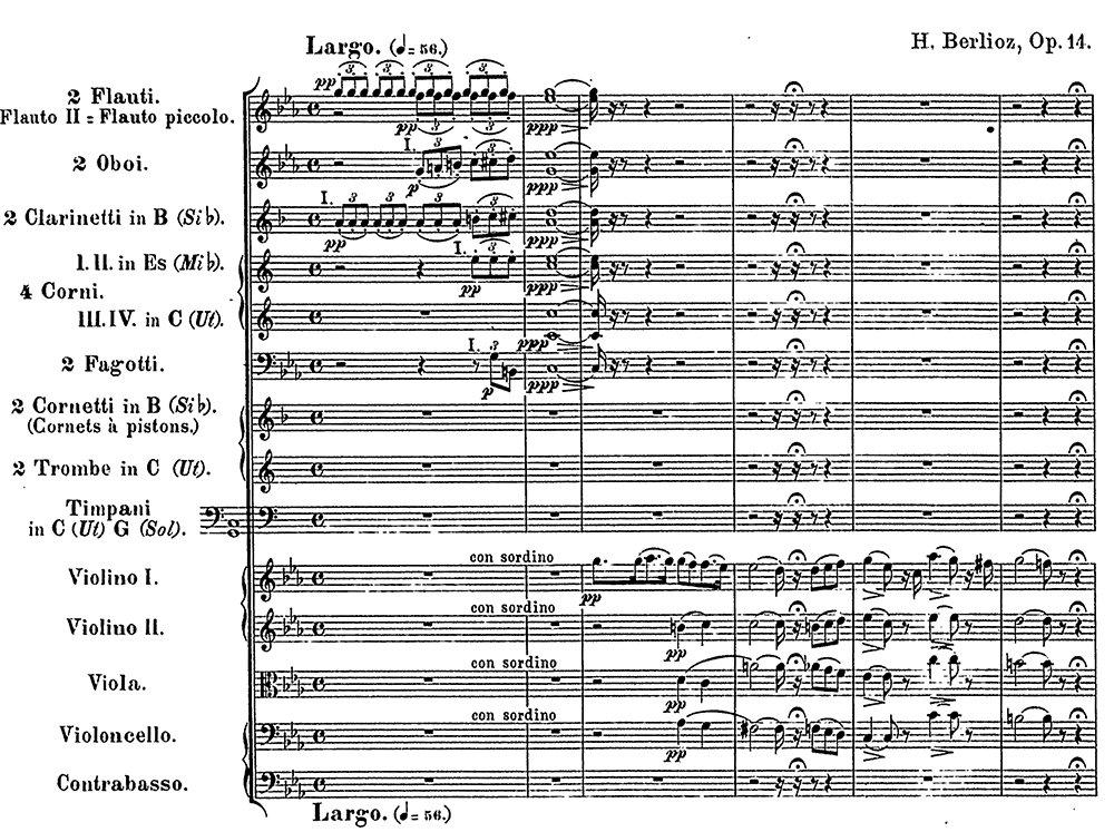 Berlioz Symphonie Fantastique analysis mov 1 ex 1