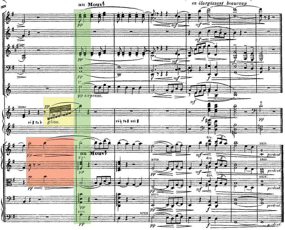 Ravel: Pavane pour une infante defunte, excerpt 10