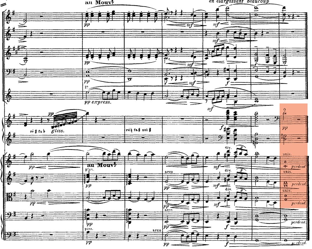 Ravel: Pavane pour une infante defunte, excerpt 11