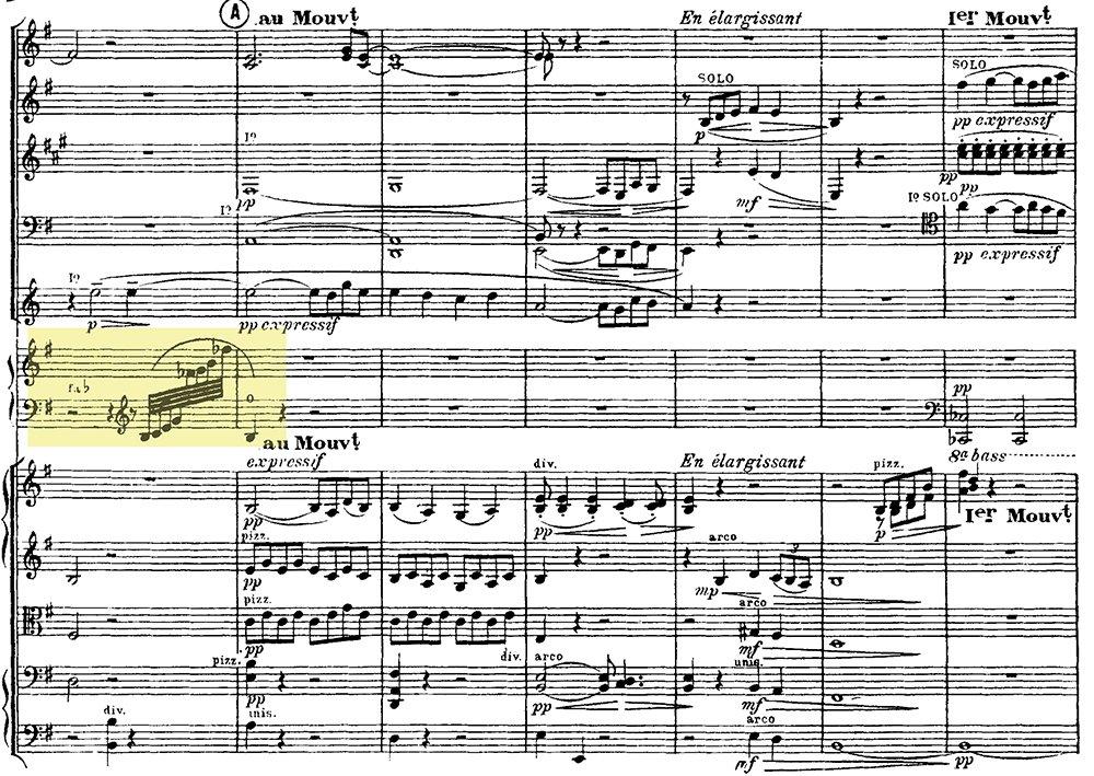 Ravel: Pavane pour une infante defunte, excerpt 2