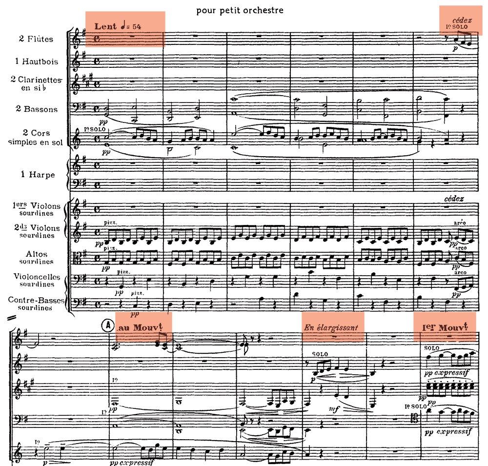 Ravel: Pavane pour une infante defunte, excerpt 3