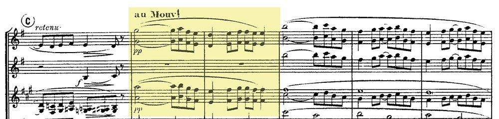Ravel: Pavane pour une infante defunte, excerpt 4
