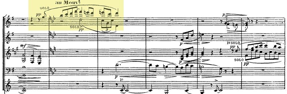 Ravel: Pavane pour une infante defunte, excerpt 6