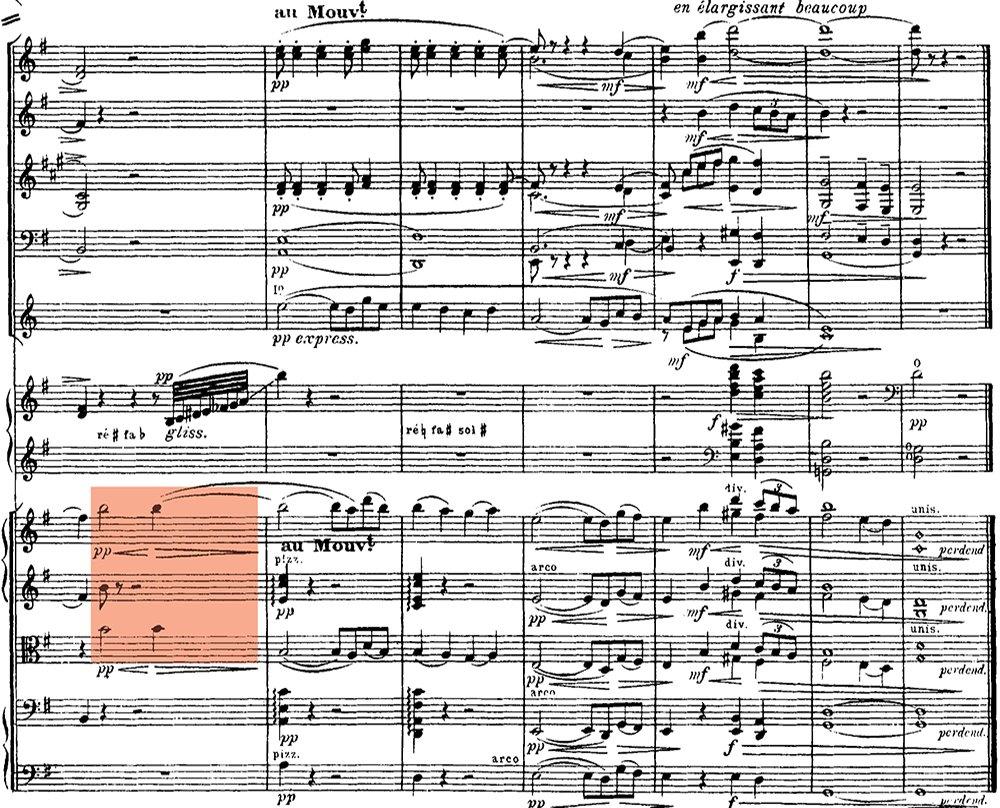 Ravel: Pavane pour une infante defunte, excerpt 8