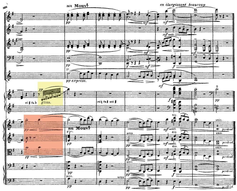 Ravel: Pavane pour une infante defunte, excerpt 9