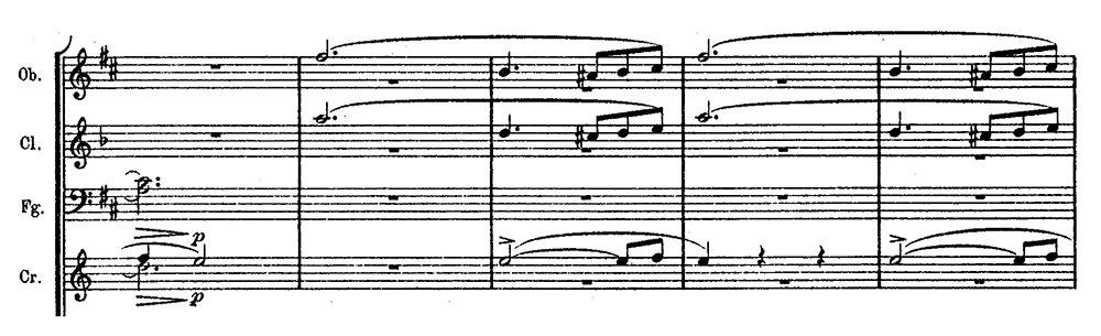 Schubert Unfinished Symphony ex 1