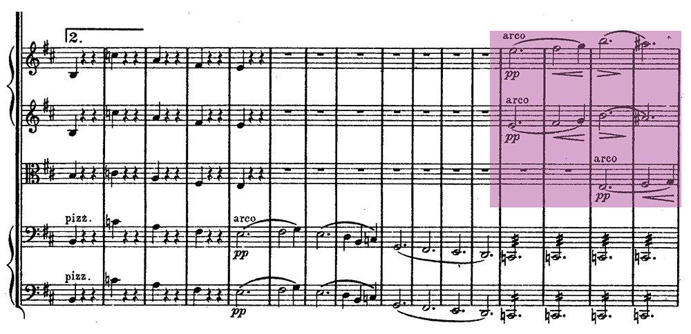 Schubert Unfinished Symphony ex 3