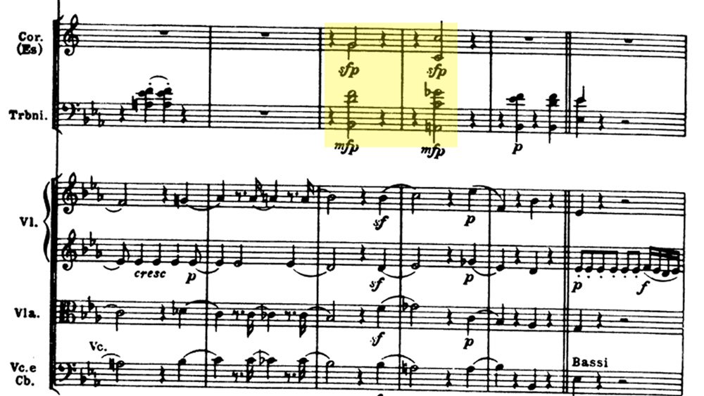 Mozart - Magic Flute Ouverture analysis - ex.4