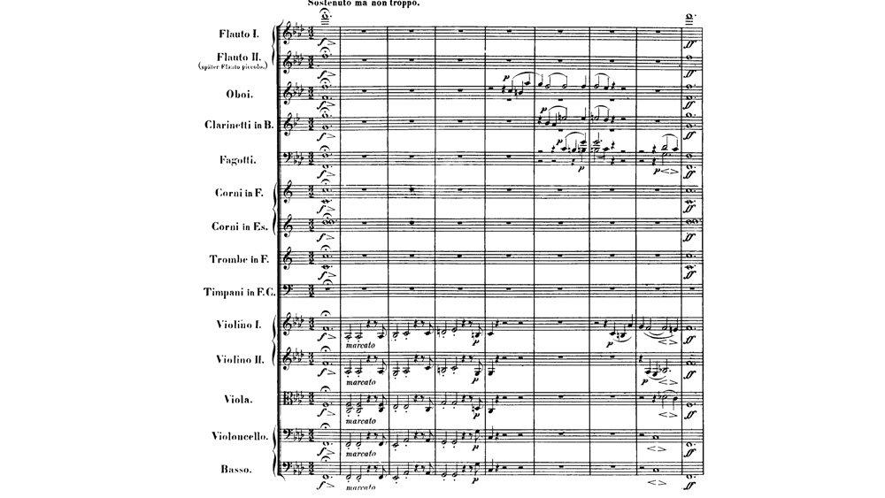 Beethoven - Egmont Ouverture analysis ex.1