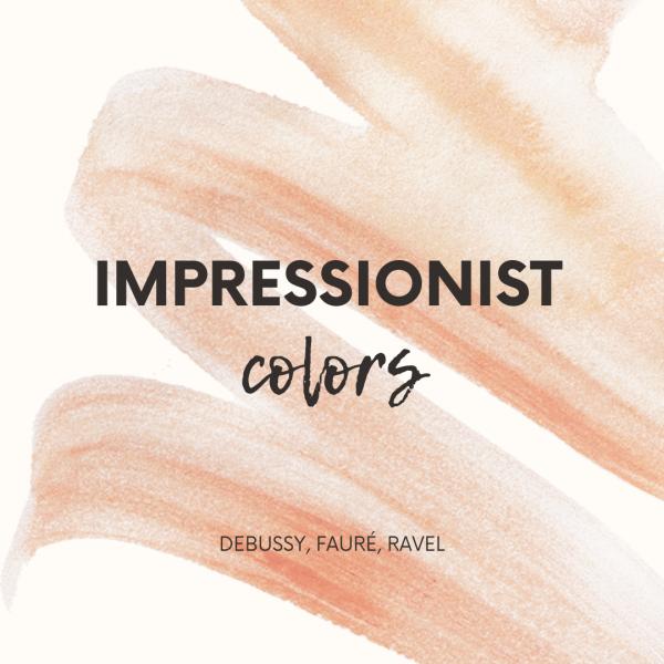 Impressionist colors - Debussy, Fauré, Ravel - Conducting lesson