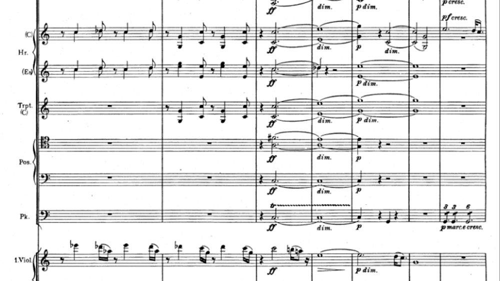 Brahms Symphony 1 Movement 4 analysis ex15
