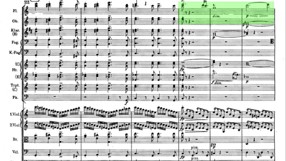 Brahms Symphony 1 Movement 4 analysis ex9