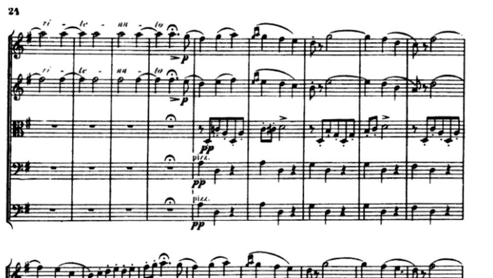 Tchaikovsky Serenade for strings analysis mov2 ex2