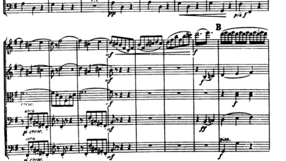 Tchaikovsky Serenade for strings analysis mov2 ex3