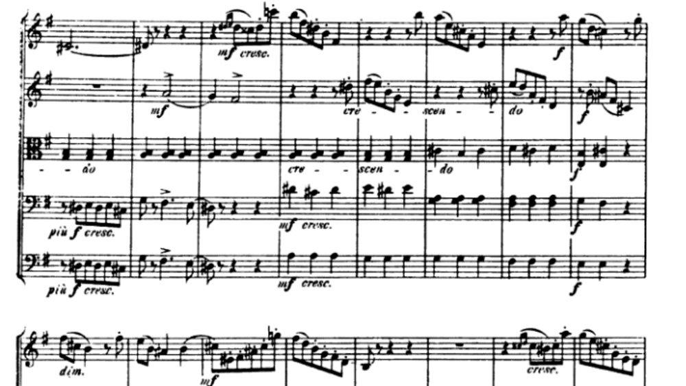 Tchaikovsky Serenade for strings analysis mov2 ex5