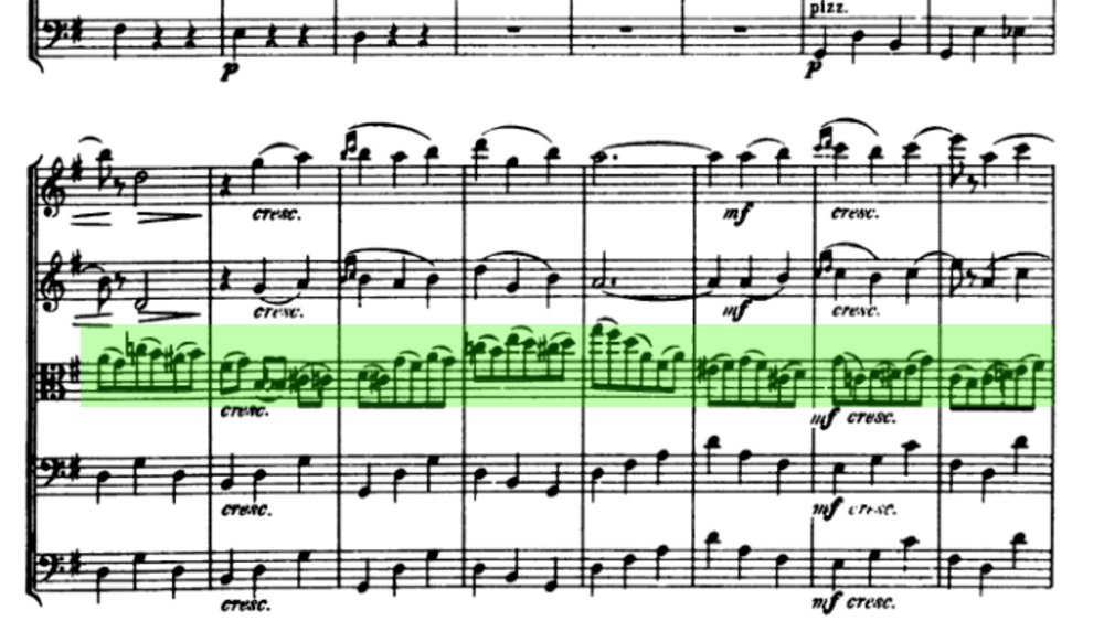 Tchaikovsky Serenade for strings analysis mov2 ex7