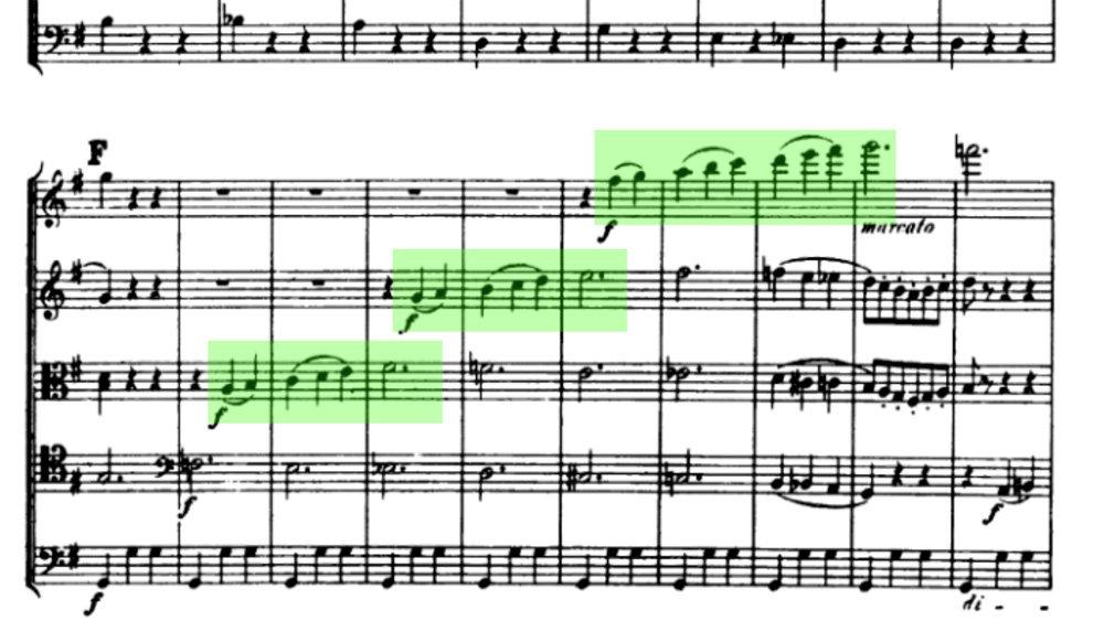 Tchaikovsky Serenade for strings analysis mov2 ex8