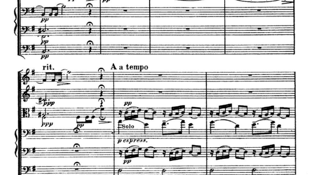 Suk Serenade for strings analysis mov 3 ex 2