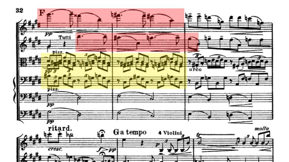 Suk Serenade for strings analysis mov 3 ex 4