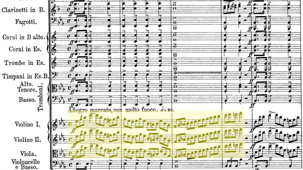 Weber - Euryanthe Overture Analysis ex.1